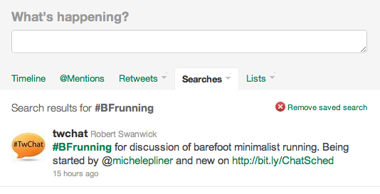BFrunning Twitter Page