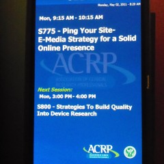 ACRP 2011 – Ping Your Site