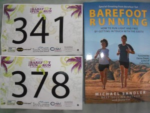 Race Bibs and Book