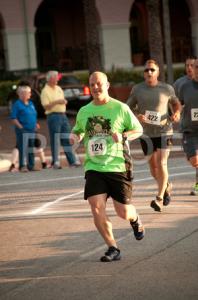 Eric Running Harveys 5k