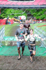 Warrior Dash Finish