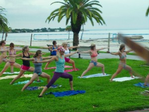 Yoga Practice Land