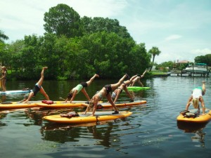 Yoga Practice SUP