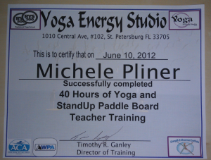 SUP Yoga Certification