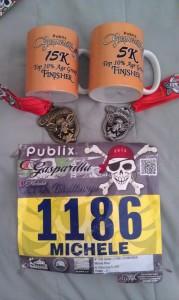Gasparilla Day 1 Medals