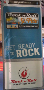 Rock n Roll St Pete Half Marathon Flag