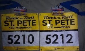 Halfmarathon Bibs