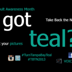 #TurnTampaBayTeal for SAAM